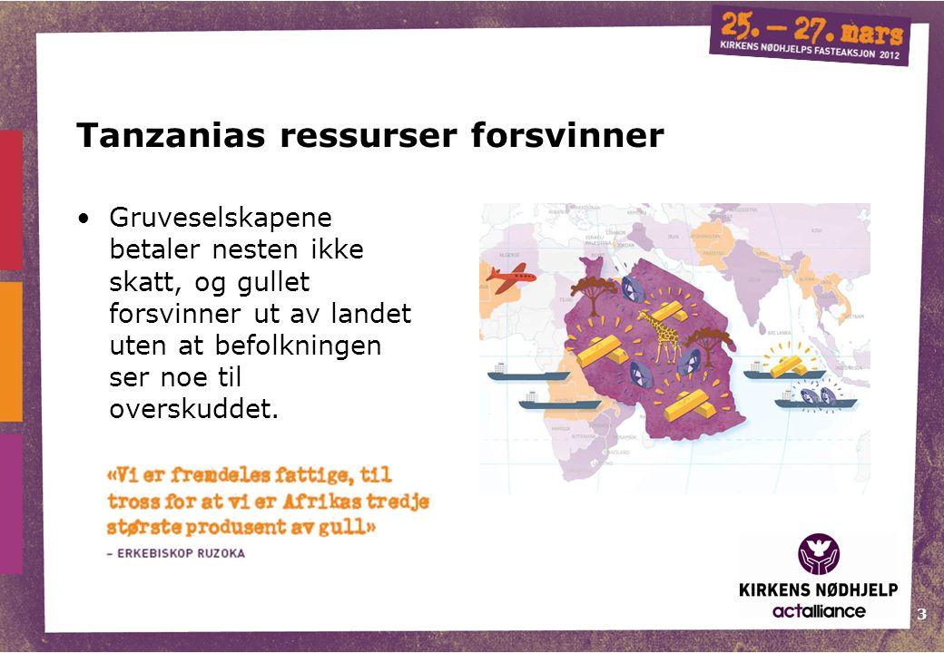 Tanzanias ressurser forsvinner