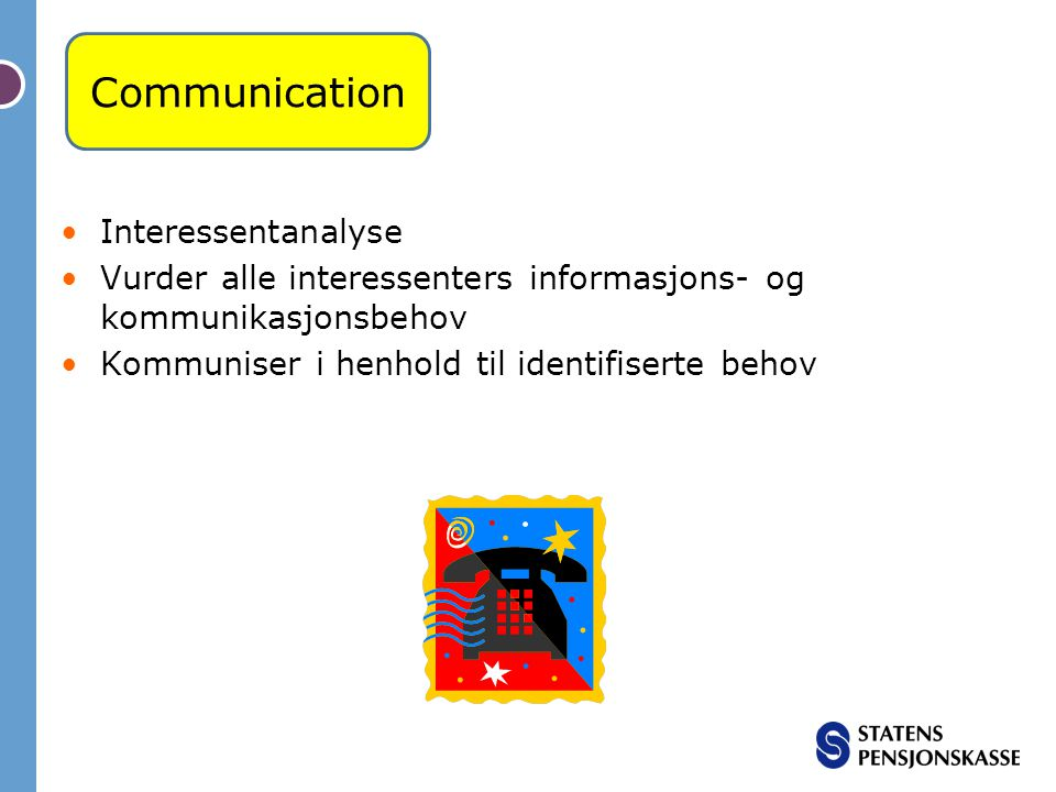 Communication Interessentanalyse