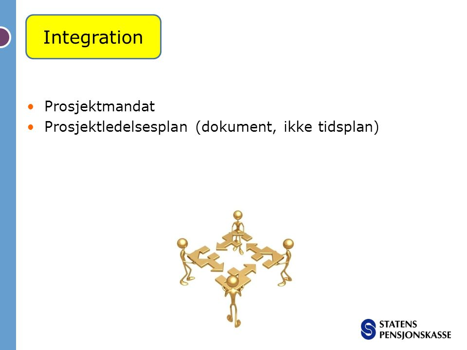 Integration Prosjektmandat