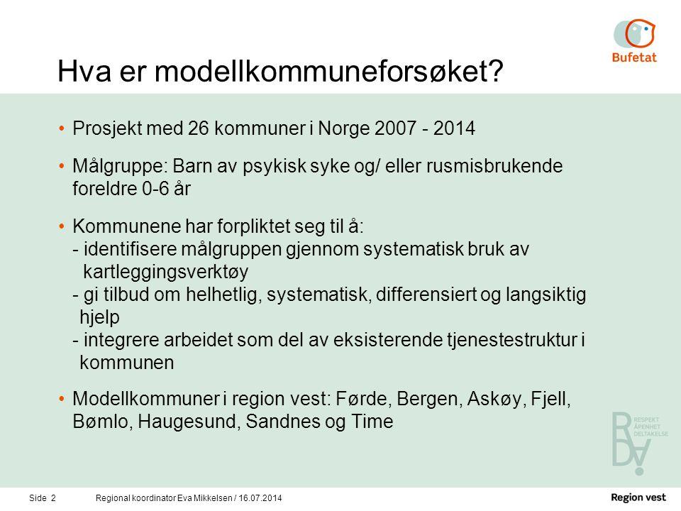 Hva er modellkommuneforsøket