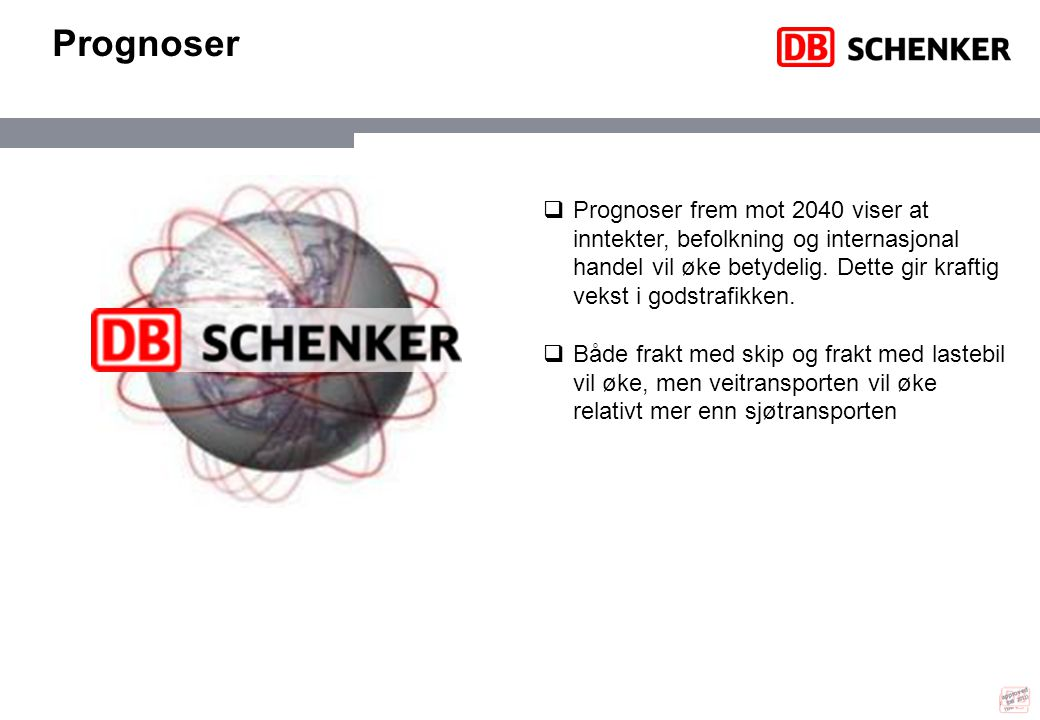 approved (DB 2011) Prognoser.