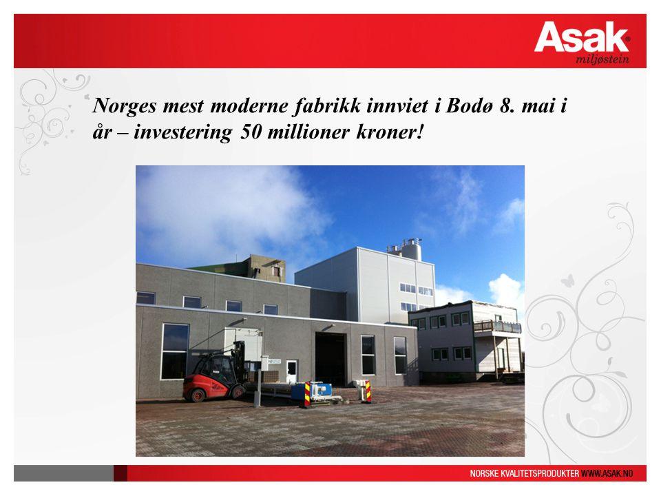 Norges mest moderne fabrikk innviet i Bodø 8