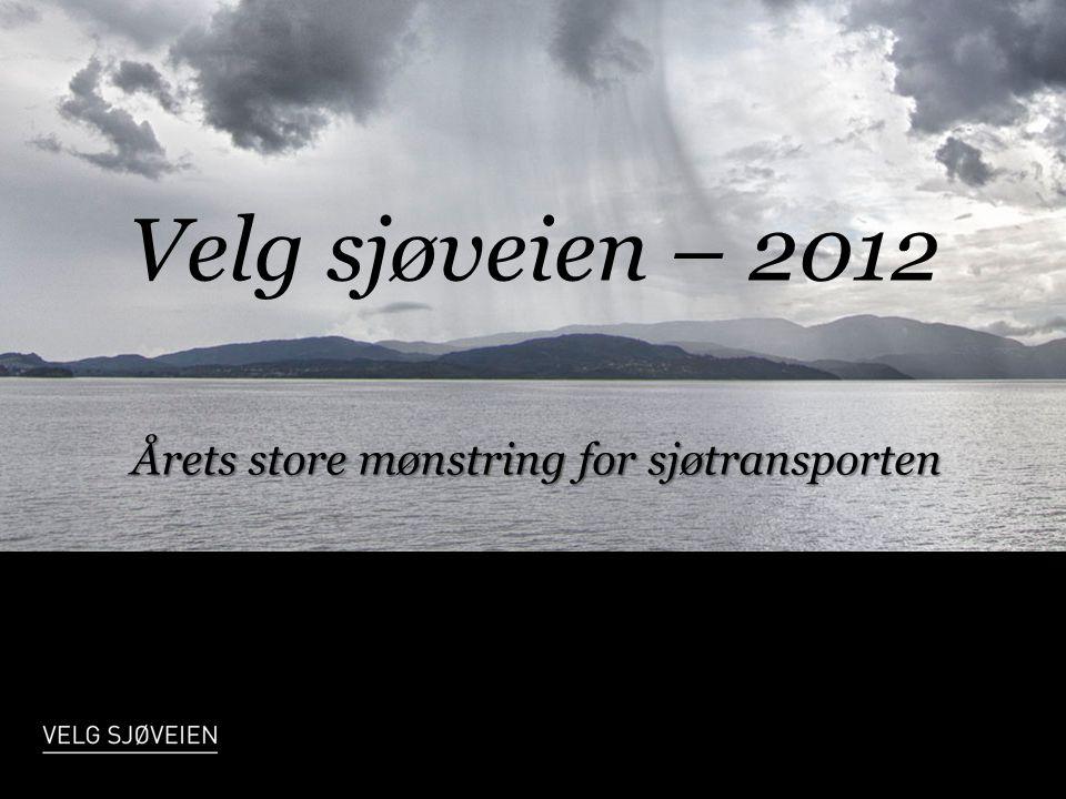 Årets store mønstring for sjøtransporten