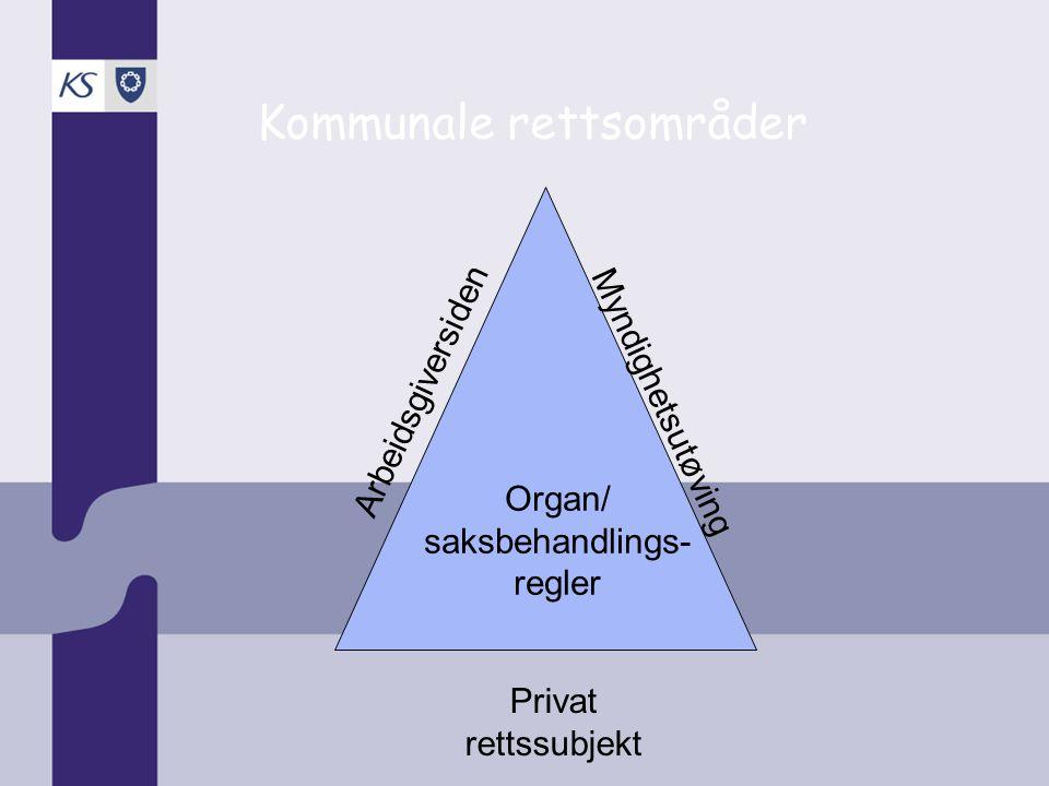 Kommunale rettsområder
