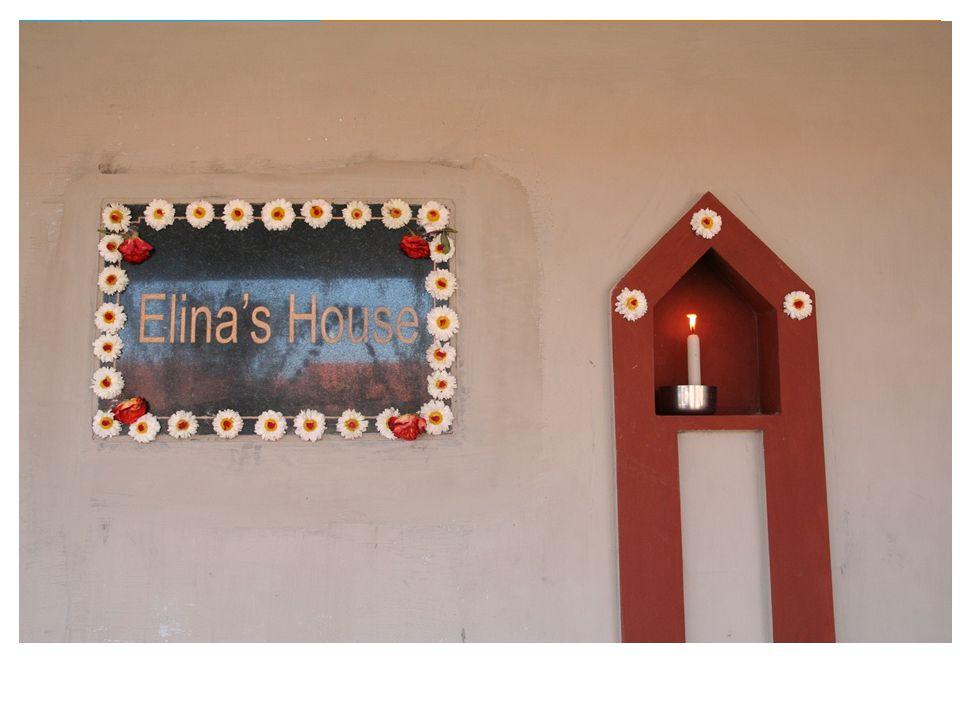 Lysmarkering i Elinas Hus
