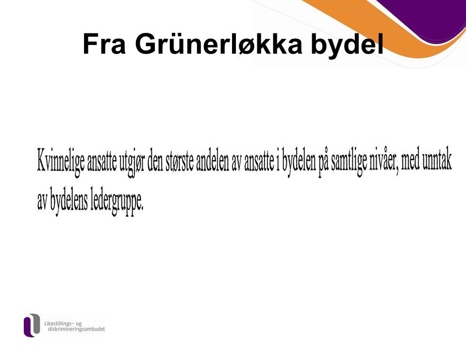 Fra Grünerløkka bydel