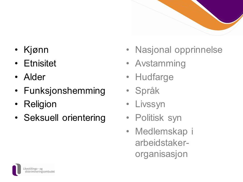Medlemskap i arbeidstaker- organisasjon