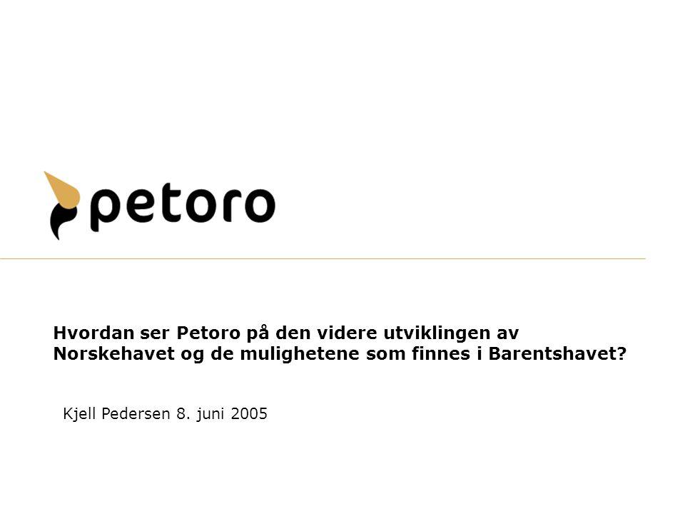 Hvordan ser Petoro på den videre utviklingen av Norskehavet og de mulighetene som finnes i Barentshavet
