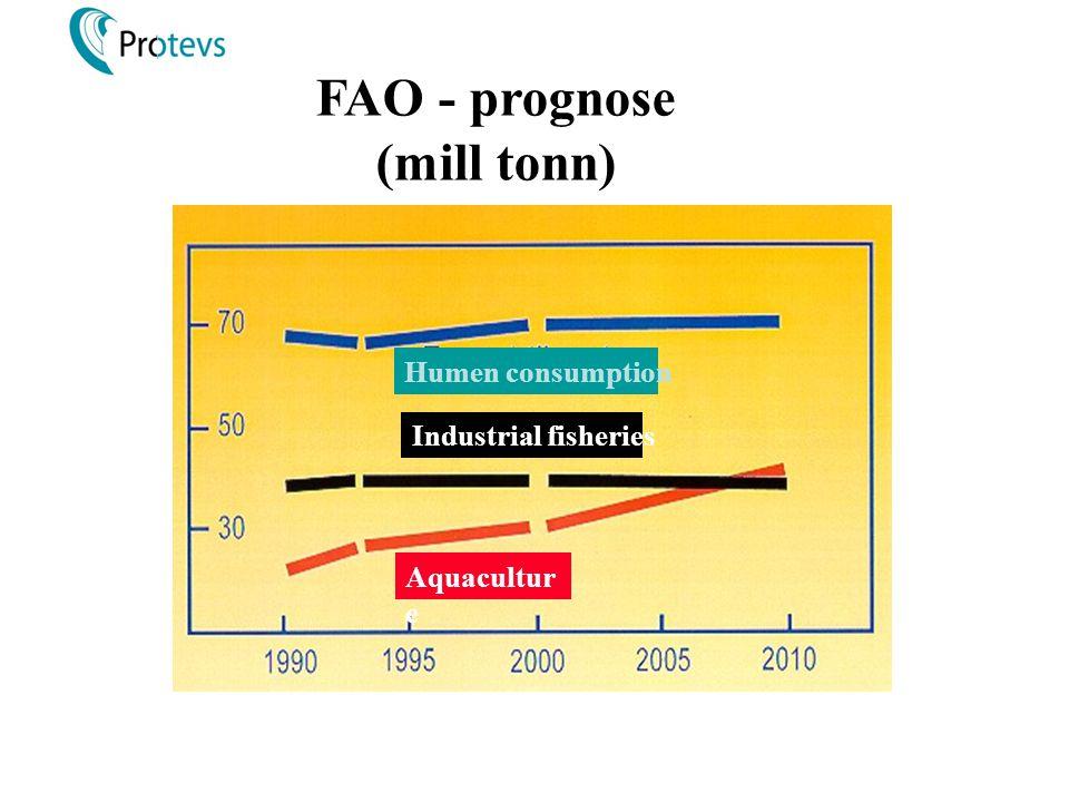 FAO - prognose (mill tonn)