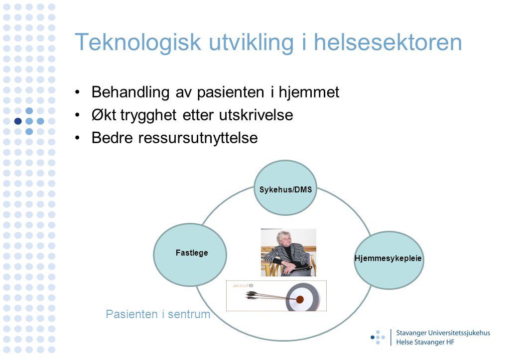 Teknologisk utvikling i helsesektoren