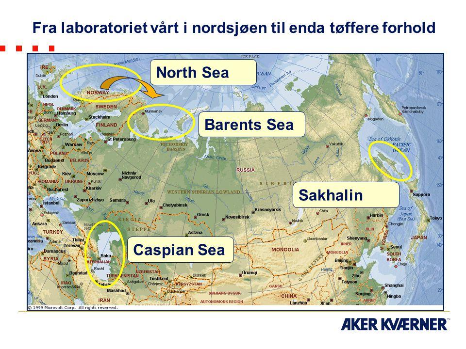 Fra laboratoriet vårt i nordsjøen til enda tøffere forhold
