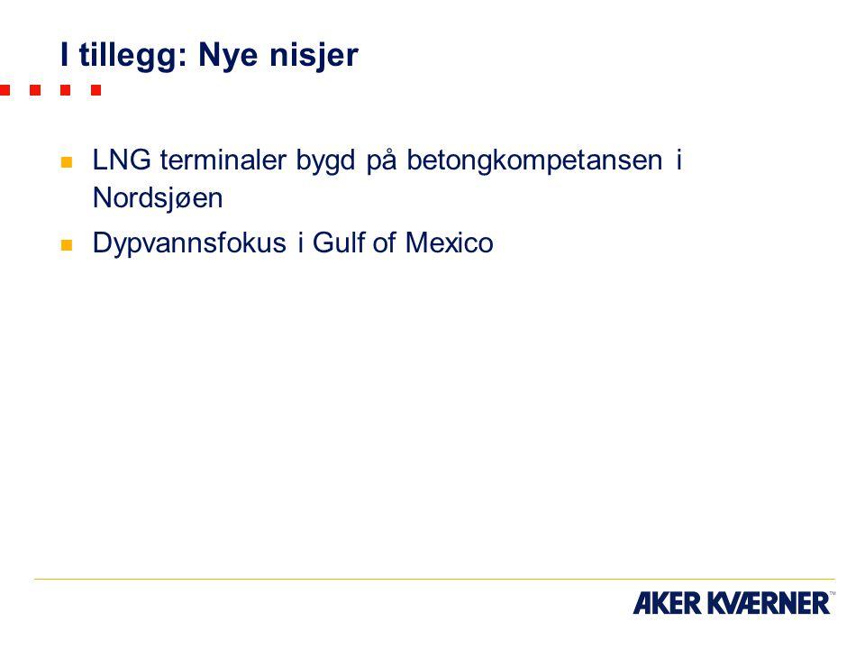I tillegg: Nye nisjer LNG terminaler bygd på betongkompetansen i Nordsjøen.