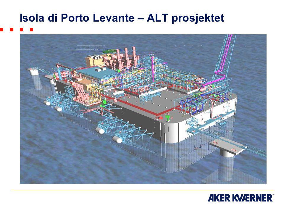 Isola di Porto Levante – ALT prosjektet