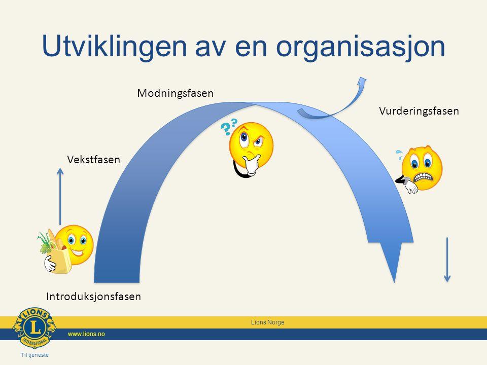 Utviklingen av en organisasjon