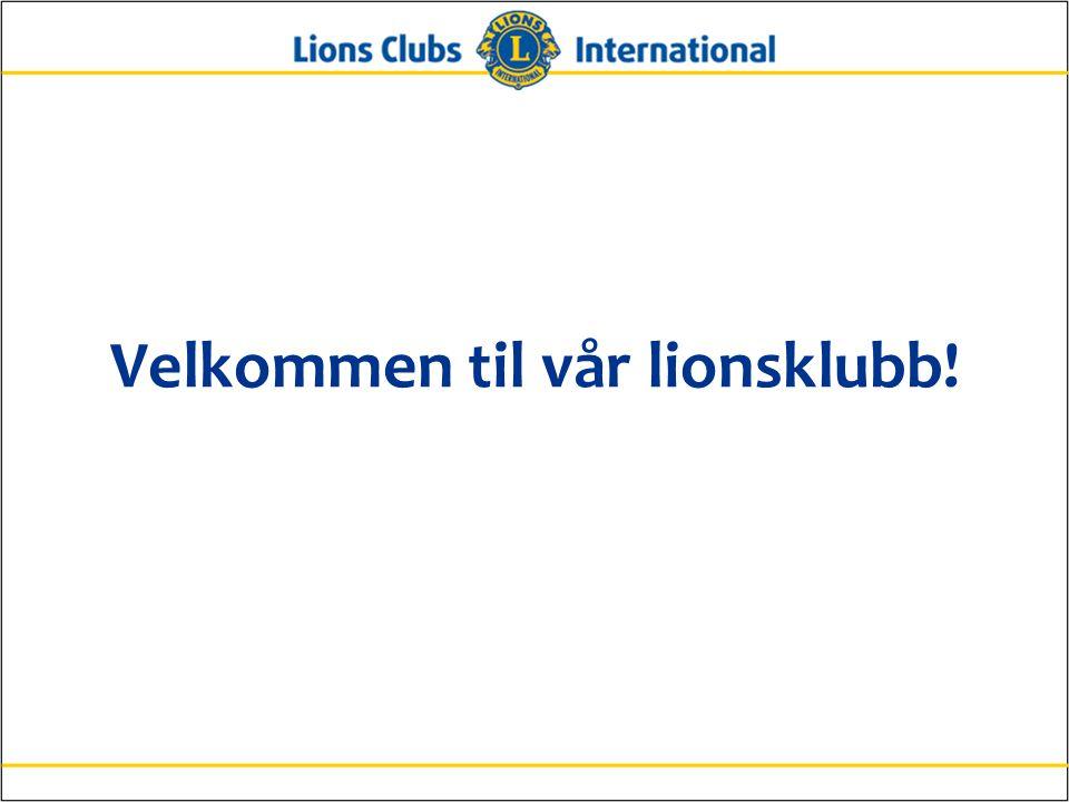 Velkommen til vår lionsklubb!