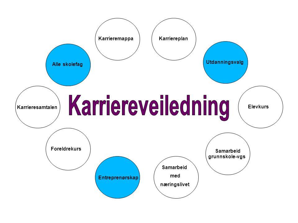 Karriereveiledning Karrieremappa Karriereplan Utdanningsvalg