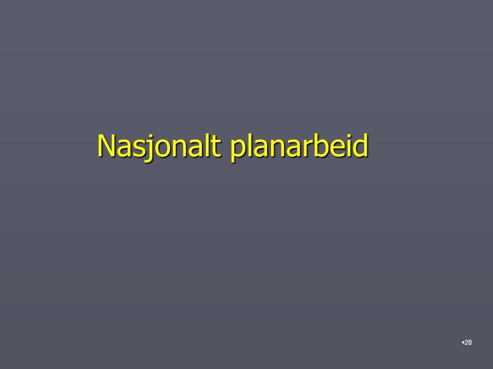 Nasjonalt planarbeid