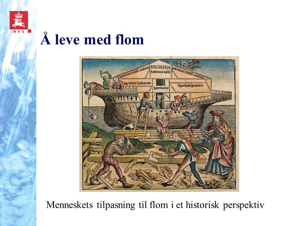 Å leve med flom INTERESSEVEKKER (til tema: Å leve med flom – link til avslutningen og with the flow )