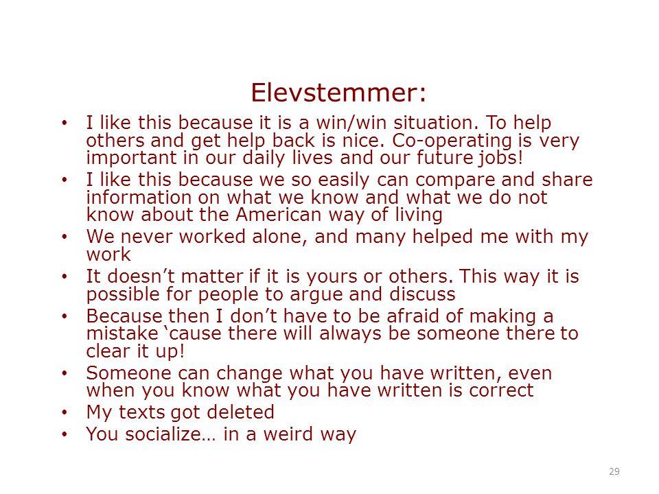 Elevstemmer: