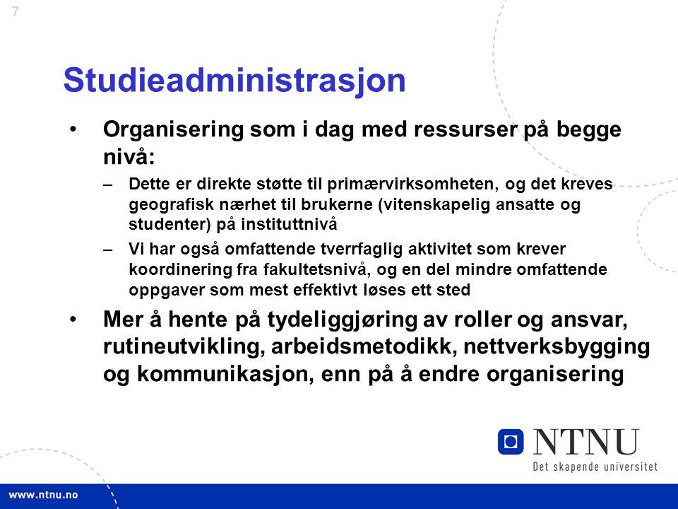 Studieadministrasjon
