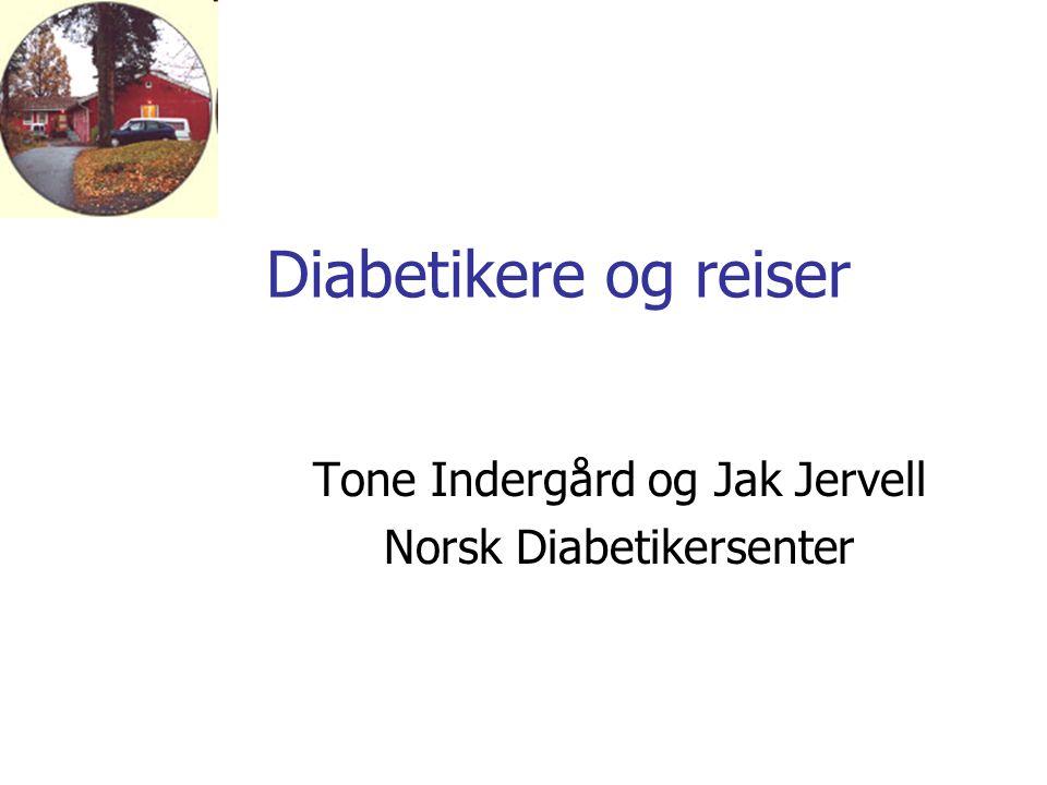 Tone Indergård og Jak Jervell Norsk Diabetikersenter