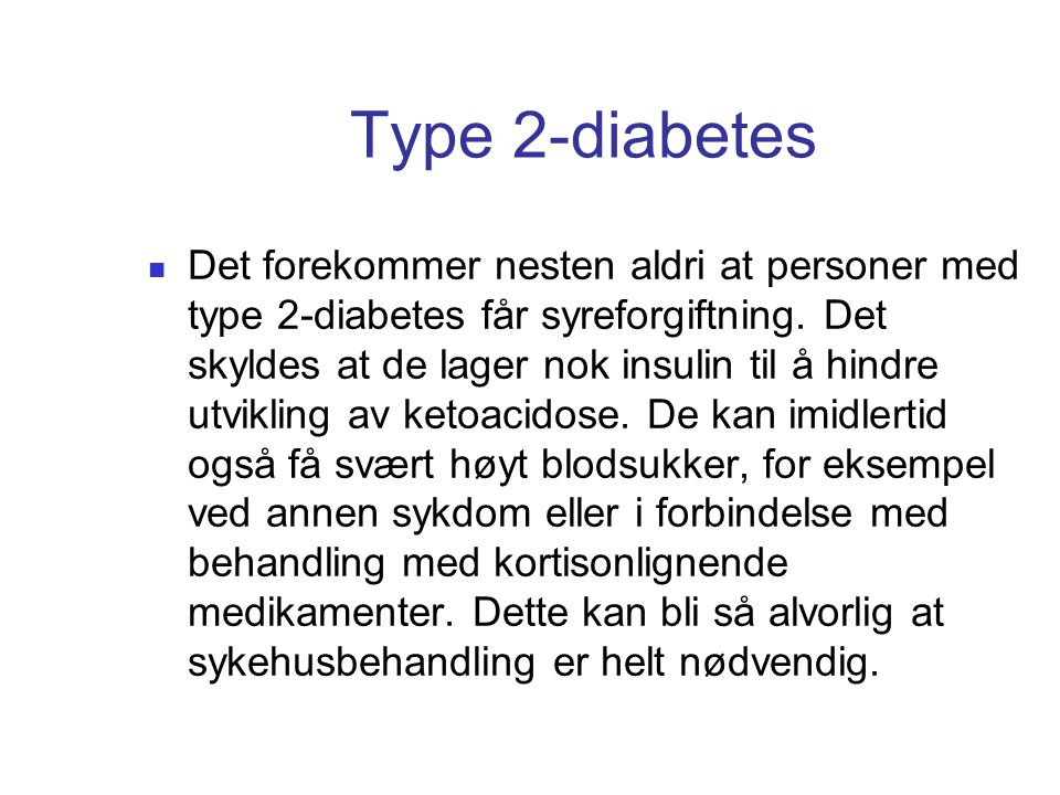 Type 2-diabetes