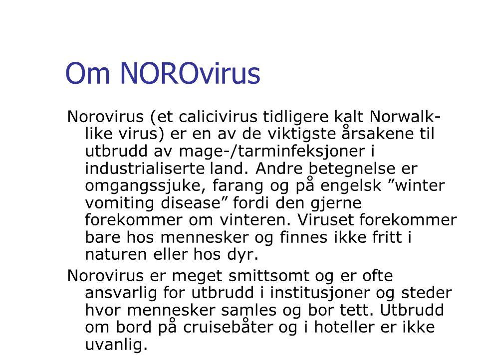 Om NOROvirus