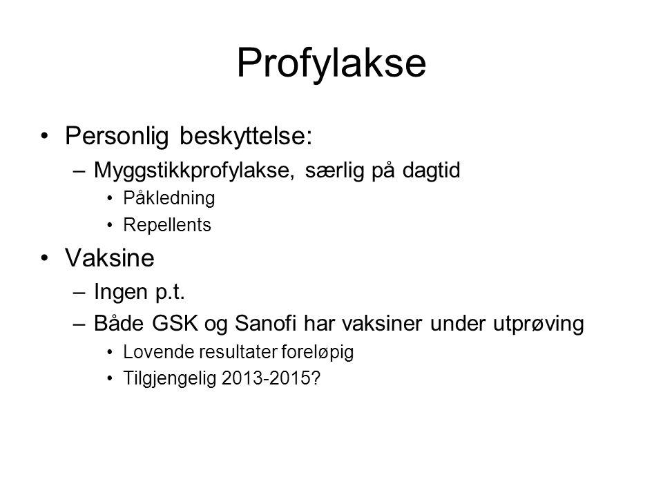 Profylakse Personlig beskyttelse: Vaksine