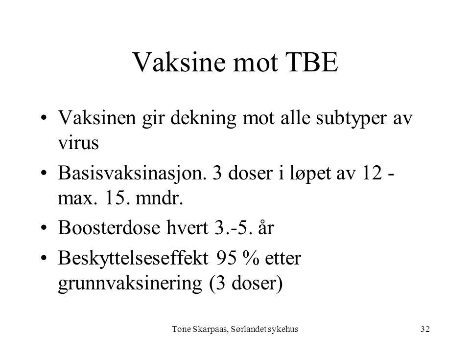 Tone Skarpaas, Sørlandet sykehus