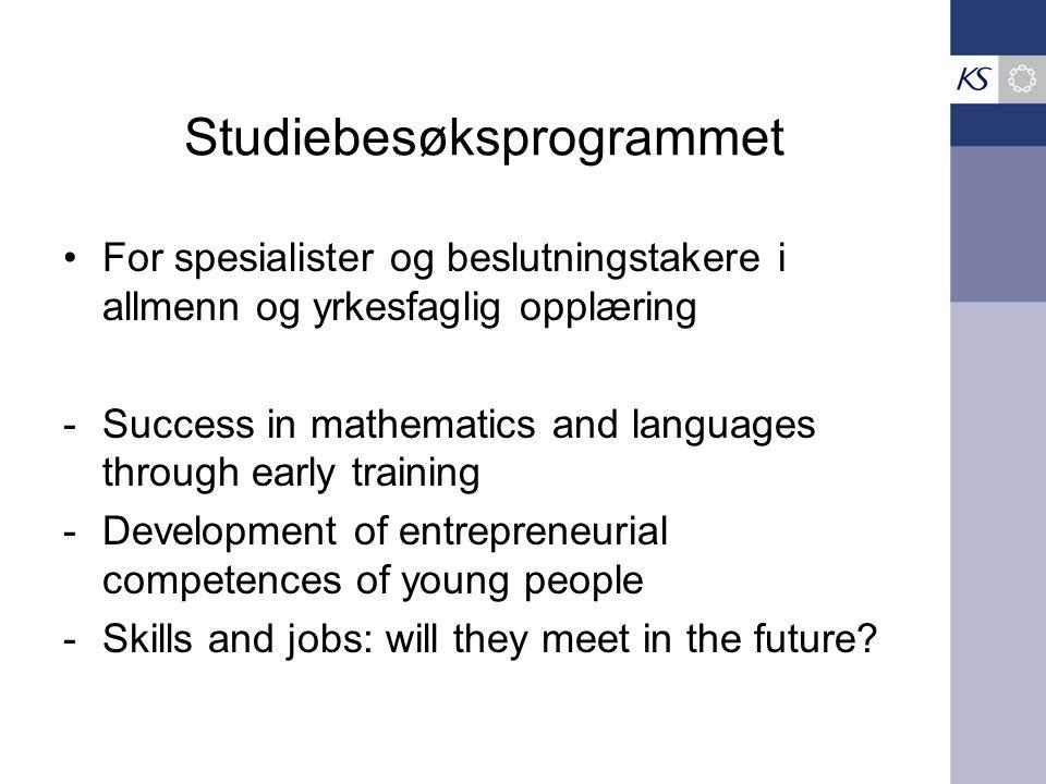 Studiebesøksprogrammet