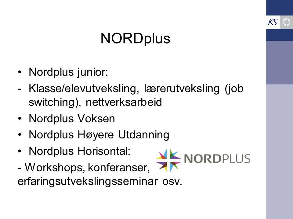 NORDplus Nordplus junior:
