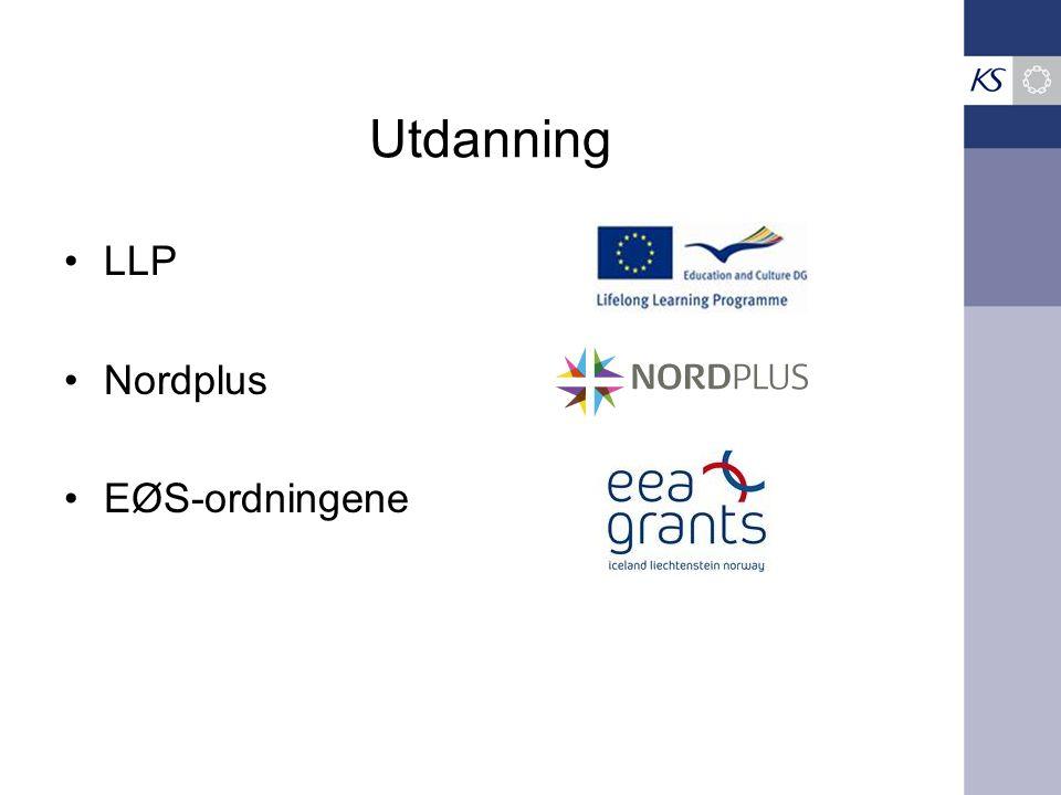 Utdanning LLP Nordplus EØS-ordningene