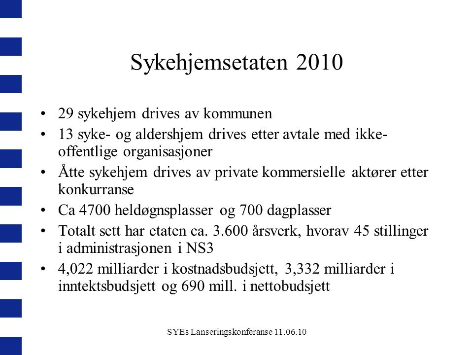 SYEs Lanseringskonferanse 11.06.10