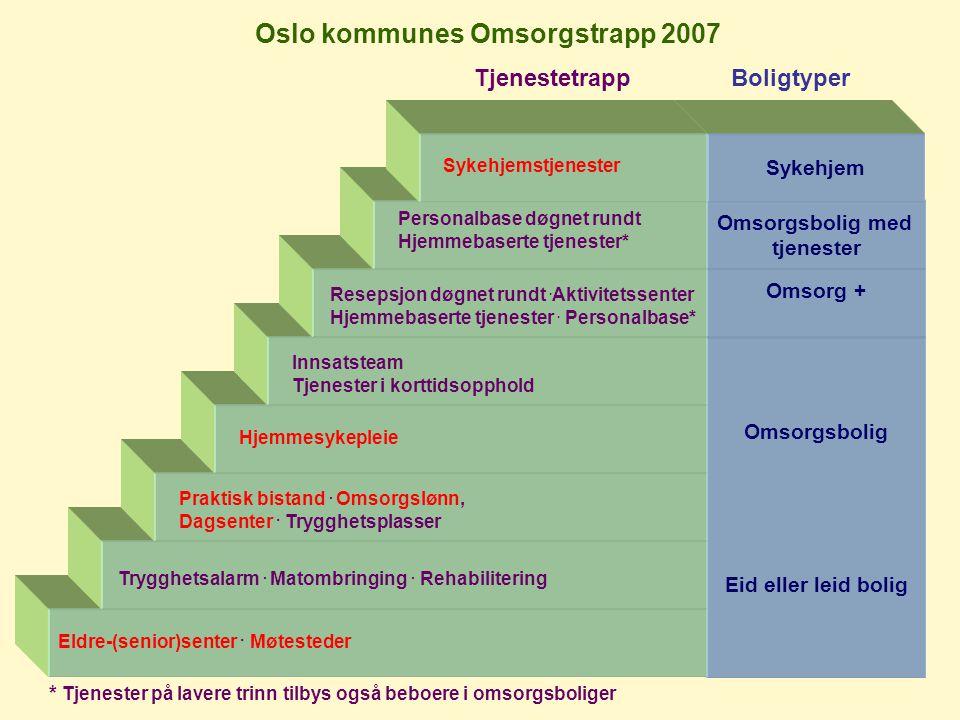 Oslo kommunes Omsorgstrapp 2007