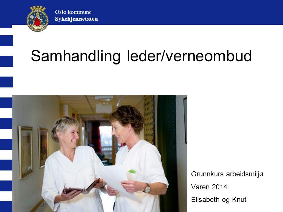 Samhandling leder/verneombud