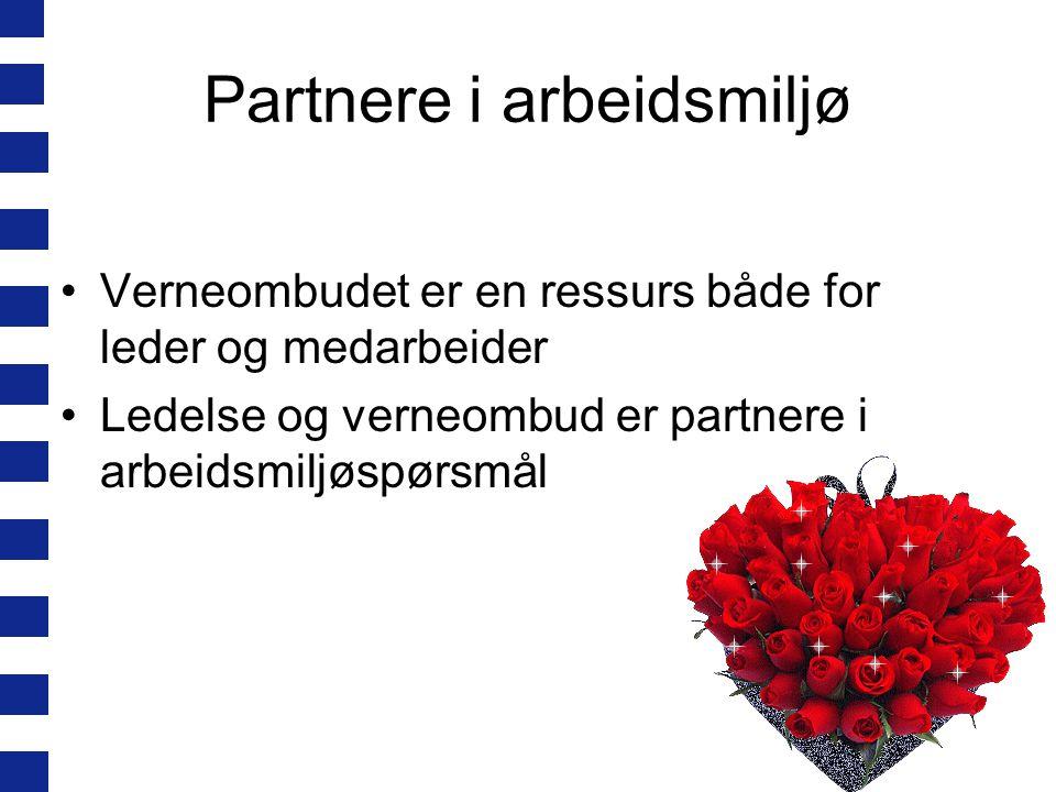 Partnere i arbeidsmiljø