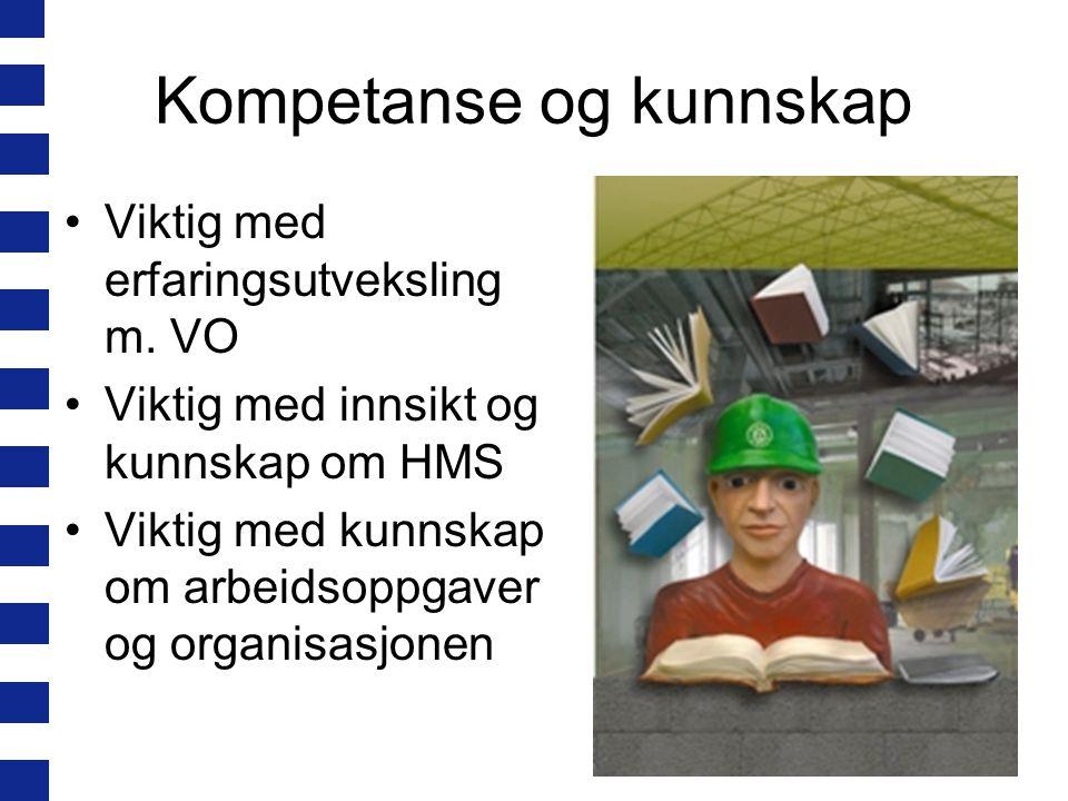Kompetanse og kunnskap