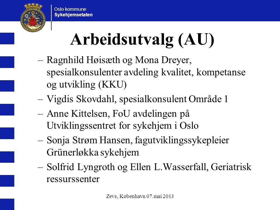 Arbeidsutvalg (AU) Ragnhild Høisæth og Mona Dreyer, spesialkonsulenter avdeling kvalitet, kompetanse og utvikling (KKU)