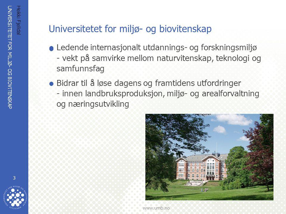 Universitetet for miljø- og biovitenskap