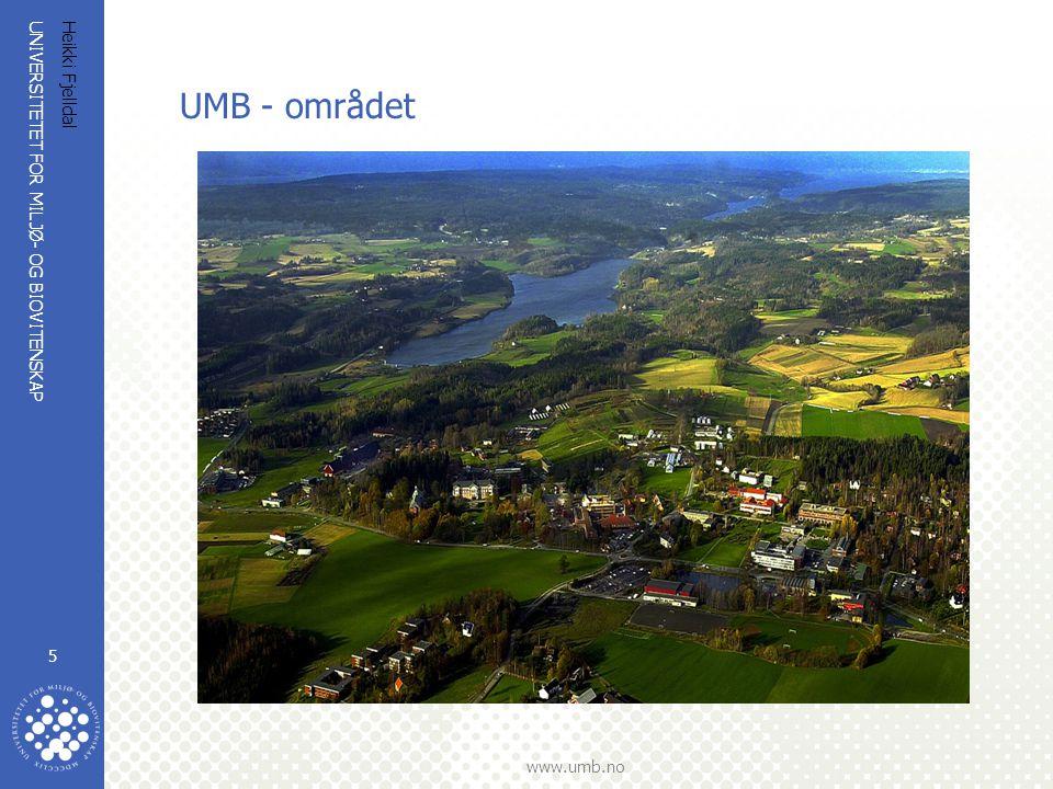 UMB - området Heikki Fjelldal