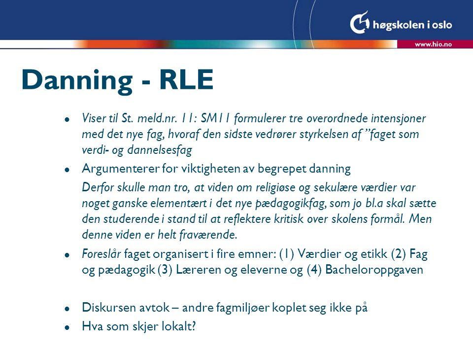 Danning - RLE