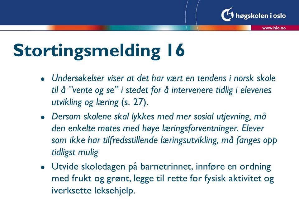 Stortingsmelding 16