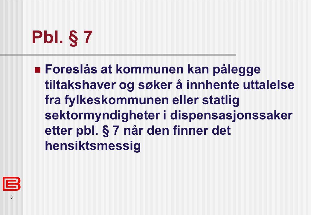 Pbl. § 7