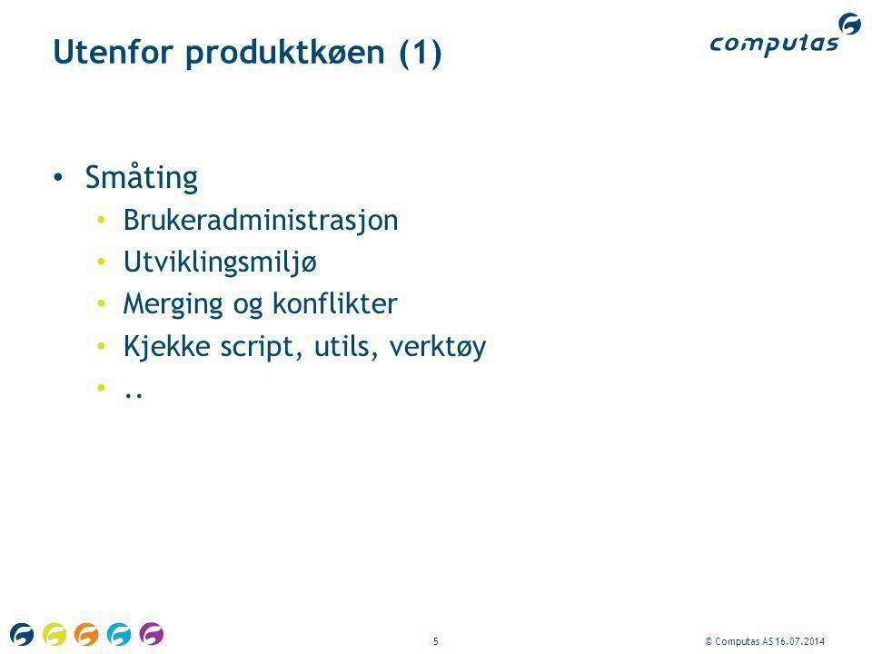 Utenfor produktkøen (1)