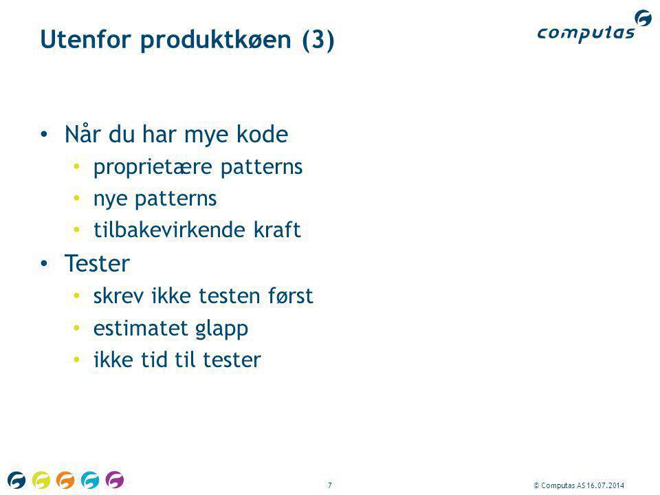 Utenfor produktkøen (3)