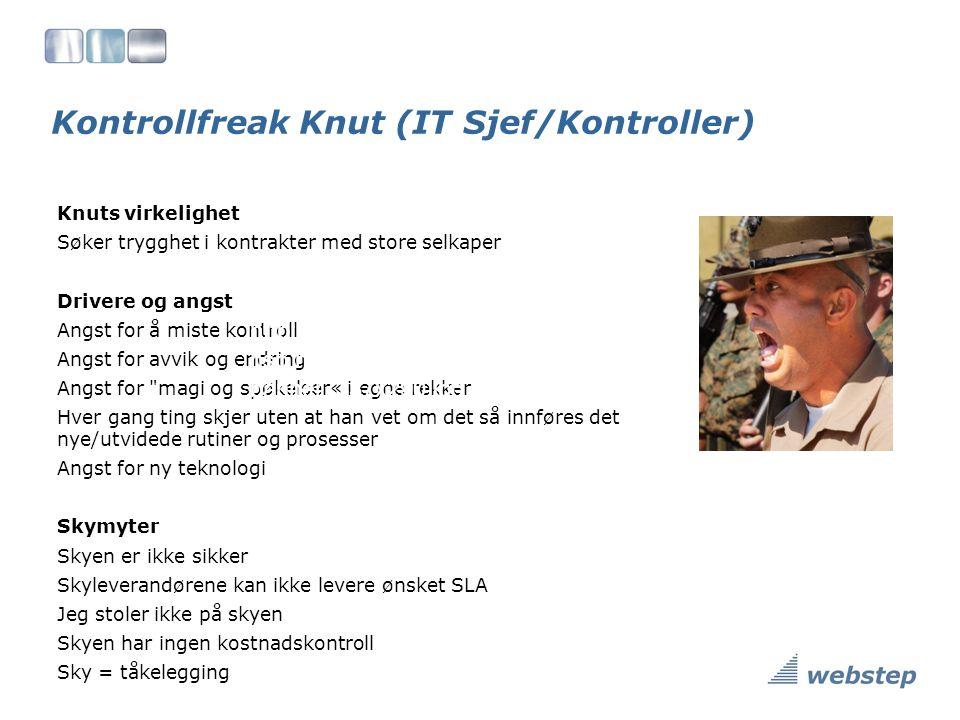 Kontrollfreak Knut (IT Sjef/Kontroller)