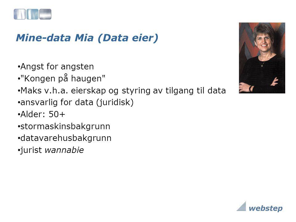 Mine-data Mia (Data eier)
