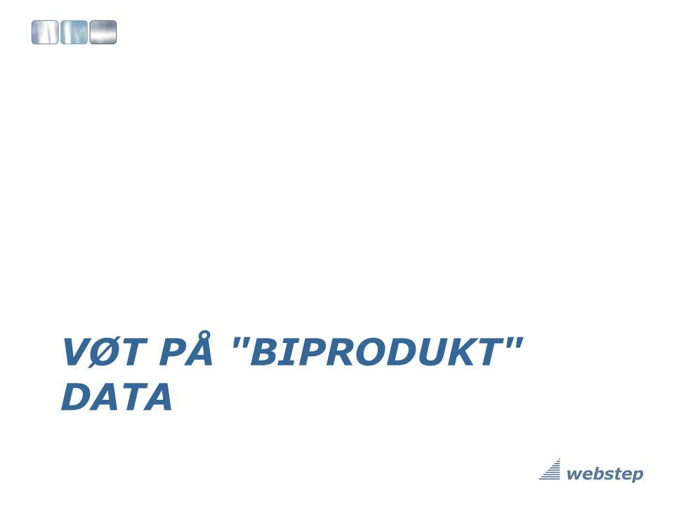 VØT på biprodukt data