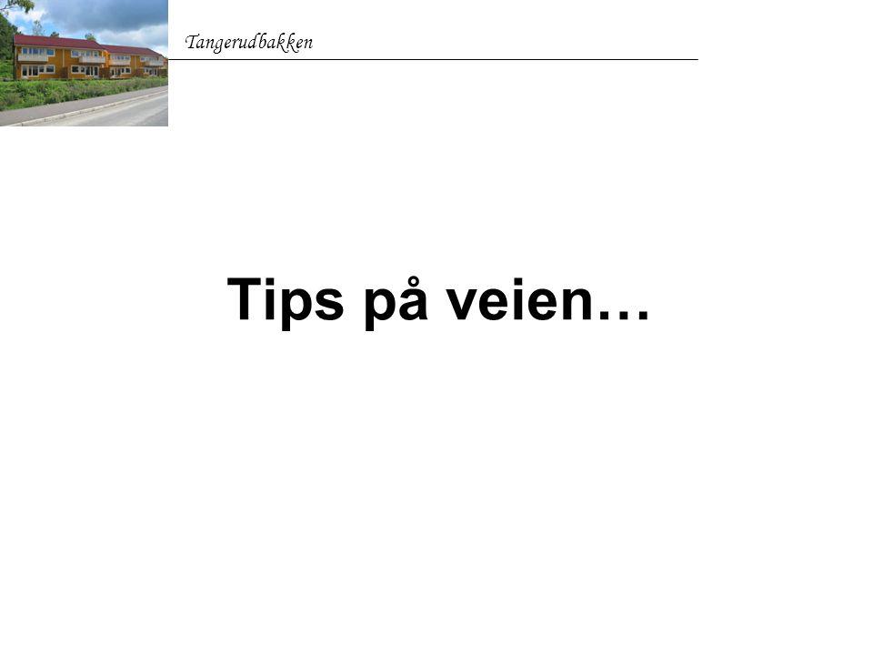 Tangerudbakken Tips på veien…
