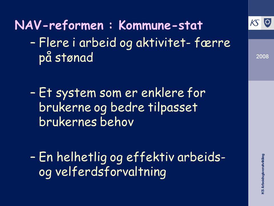 NAV-reformen : Kommune-stat